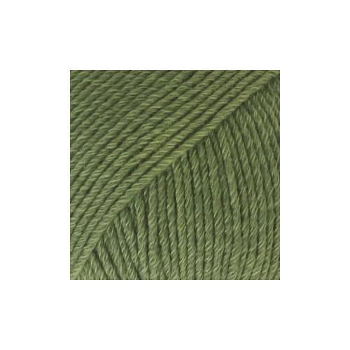 Drops Cotten Merino UNI farve 11 skovgrøn