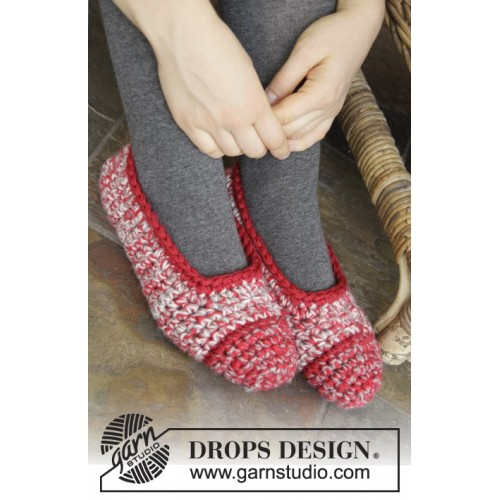 Merry Slippers by DROPS Design 35-44 DROPS KARISMA