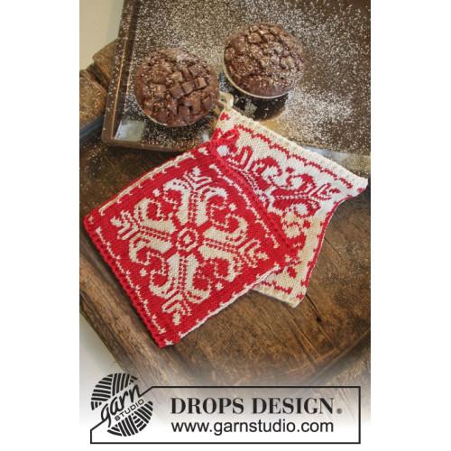 Baking Christmas by DROPS Design ca 20 x 19 cm. DROPS MUSKAT