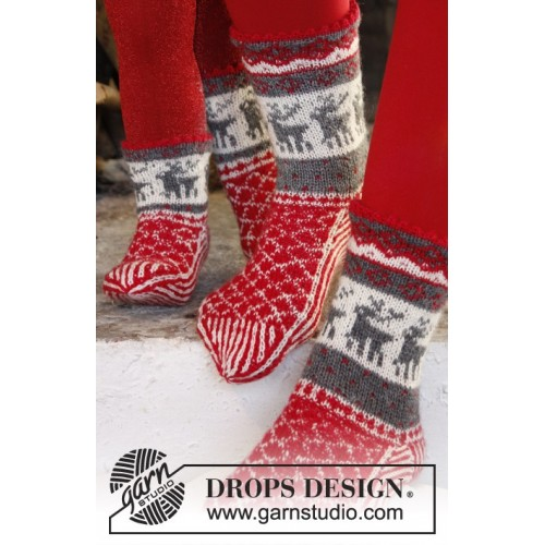 Christmas Stampede by DROPS Design 26-43 DROPS FABEL