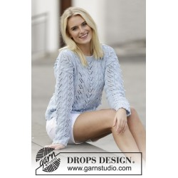 Sea Light by DROPS Design S-XXXL DROPS BELLE