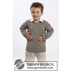 Funny Phil by DROPS Design 2-10 år DROPS BELLE