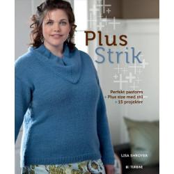Plus strik, perfekt pasform, plus size med stil, 15 projekter - Lisa Shroyer bog