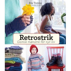 Retrostrik, gamle mønstre får nyt liv - Eva Trotzig bog