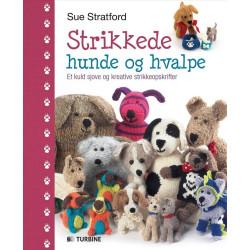 Strikkede hunde og hvalpe - Sue Stratford bog