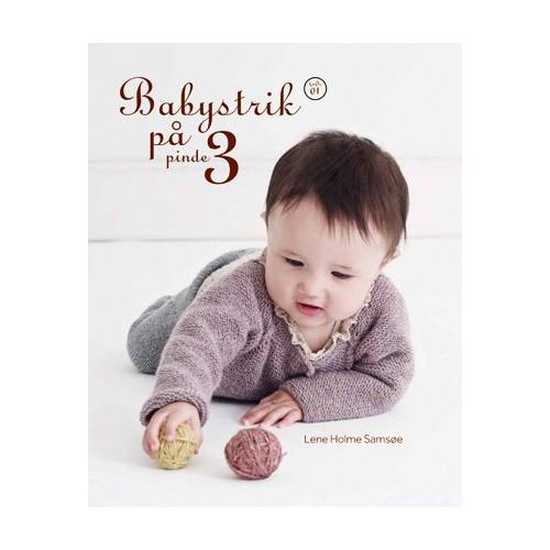 Babystrik på pinde 3 - Lene Holm Samsøe bog