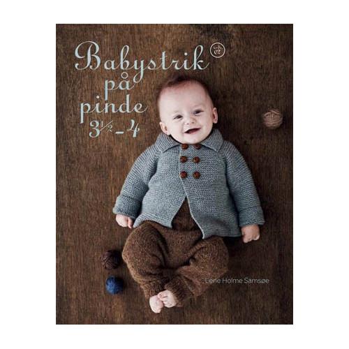 Babystrik på pinde 3½ - 4 - Lene Holme Samsøe bog