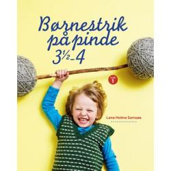Børnestrik på pinde 3½ - 4 - Lene Holme Samsøe bog