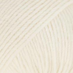 Drops Cotton Merino UNI farve 01 natur
