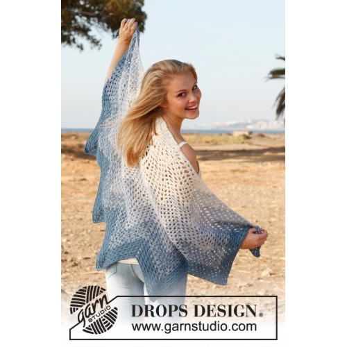 Edelweiss by DROPS Design One-size DROPS BABYALPACA SILK