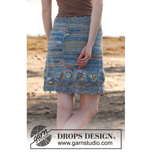 Blue dream by DROPS Design S-XXXL DROPS FABEL
