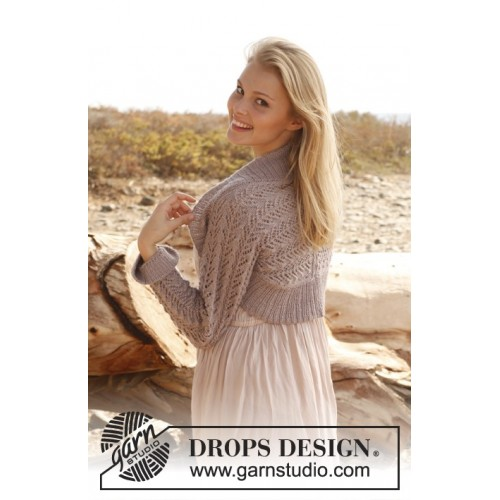 Romantic by DROPS Design S-XXXL DROPS BABYALPACA SILK