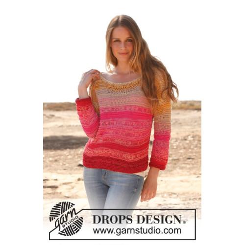 Candy by DROPS Design S-XXXL DROPS SAFRAN