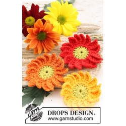 Marguerite by DROPS Design One-size DROPS SAFRAN