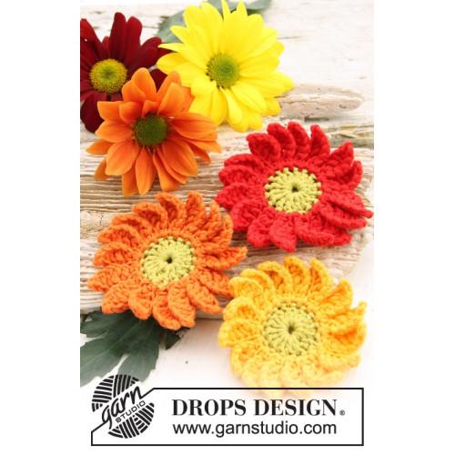 Marguerite by DROPS Design One-size DROPS SAFRAN
