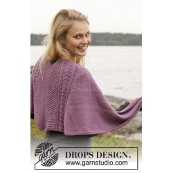 Denise by DROPS Design One-size DROPS BABYALPACA SILK