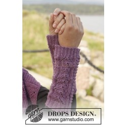 Mari by DROPS Design One-size DROPS BABYALPACA SILK