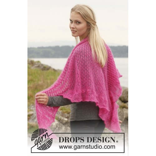 Madeleine by DROPS Design One-size DROPS KID-SILK
