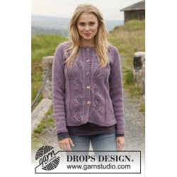 Image of   Ilona by drops design s-xxxl drops big merino garn cardigan