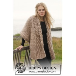 Image of   Celia by drops design s-xxxl drops polaris garn cardigan