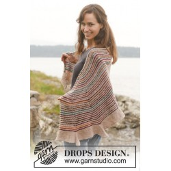 Image of   Spectrum by drops design one-size drops fabel garn sjal