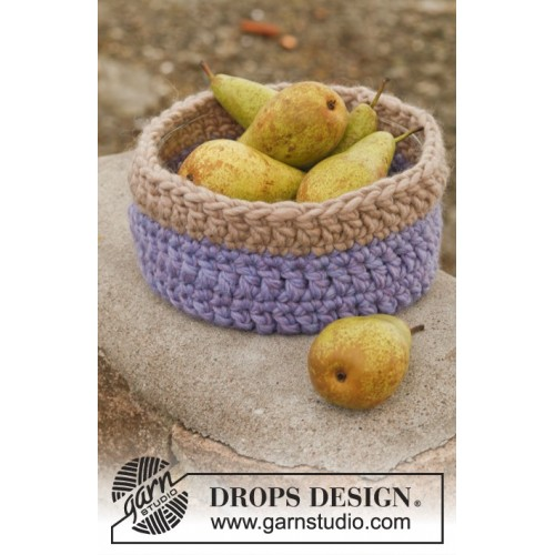 Autumn Fruit by DROPS Design 22 x 9cm DROPS POLARIS