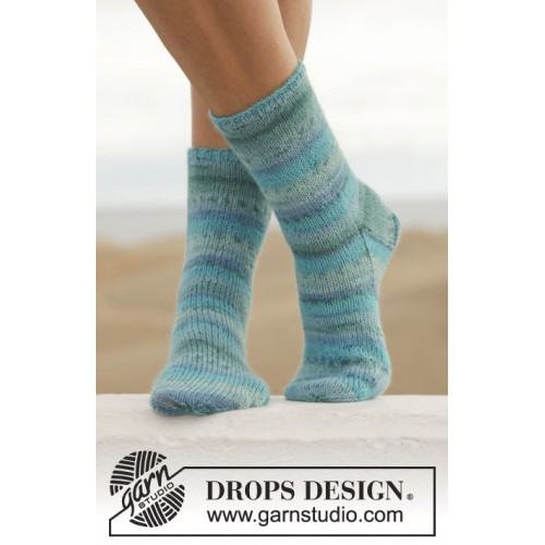 Blue Notes by DROPS Design 35-43 DROPS FABEL
