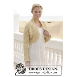 Lemon Shrug by DROPS Design S-XXXL DROPS BABYALPACA SILK