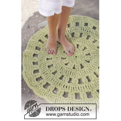 Lily Pad by DROPS Design Small-Large DROPS ESKIMO
