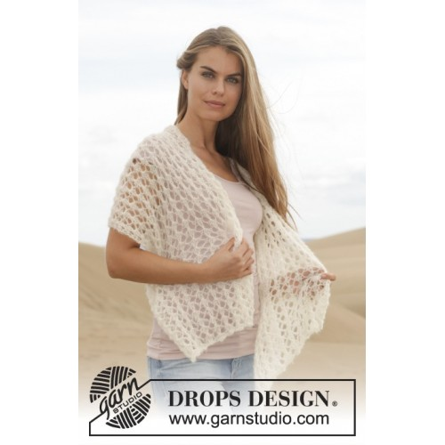 Zephyr by DROPS Design One-size DROPS BRUSHED ALPACA SILK