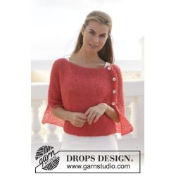 First date by DROPS Design S-XXXL DROPS BRUSHED ALPACA SILK