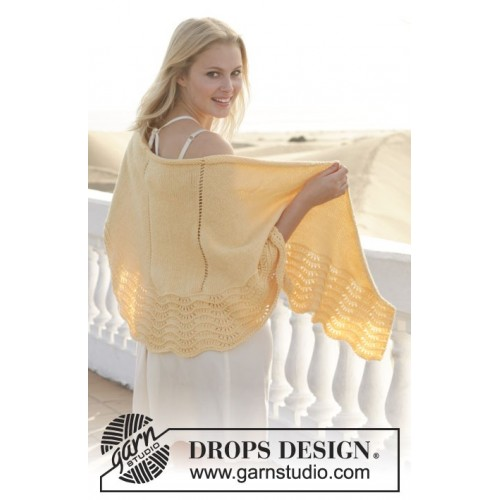 Soleil by DROPS Design 176 x 54cm DROPS MERINO EXTRA FINE