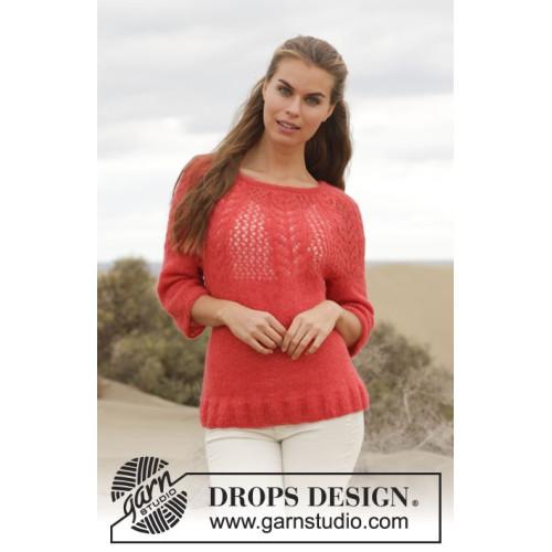 Cheryl by DROPS Design S-XXXL DROPS BRUSHED ALPACA SILK