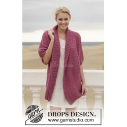 Maybellene by DROPS Design S-XXXL DROPS BRUSHED ALPACA SILK