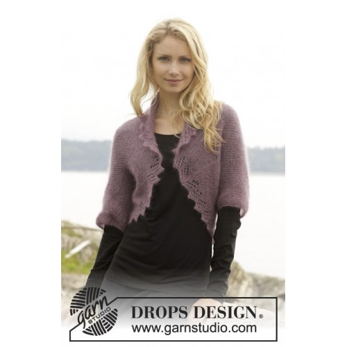Mathilda by DROPS Design S-XXXL DROPS KID-SILK