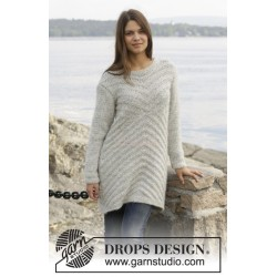 By The Lake by DROPS Design S-XXXL DROPS CLOUD