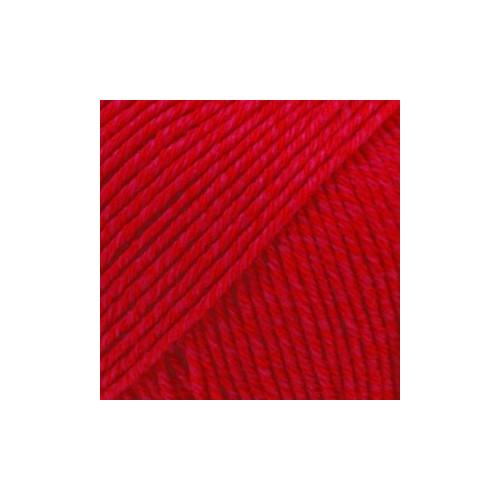 Drops Cotten Merino UNI farver 06 rød