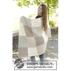 A patch of comfort by drops design one-size drops nepal garn drops