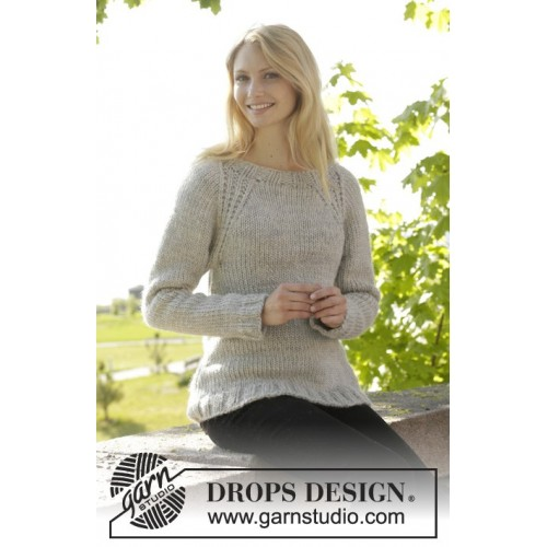 Virginia by DROPS Design S-XXXL DROPS ESKIMO