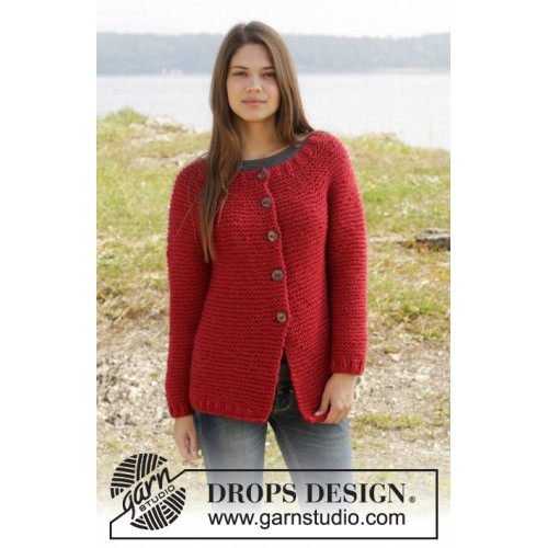 Ruby My Dear by DROPS Design S-XXXL DROPS ANDES