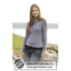 Feathers by DROPS Design S-XXXL DROPS BABYALPACA SILK