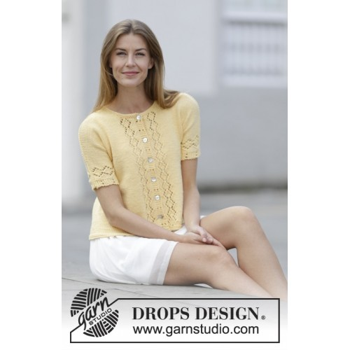 Sweet Vanilla by DROPS Design S-XXXL DROPS MERINO EXTRA FINE