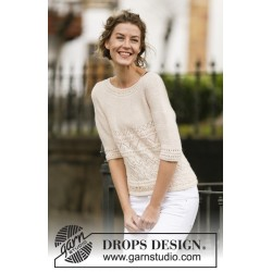 Timeless Beauty by DROPS Design S-XXXL DROPS BABYALPACA SILK
