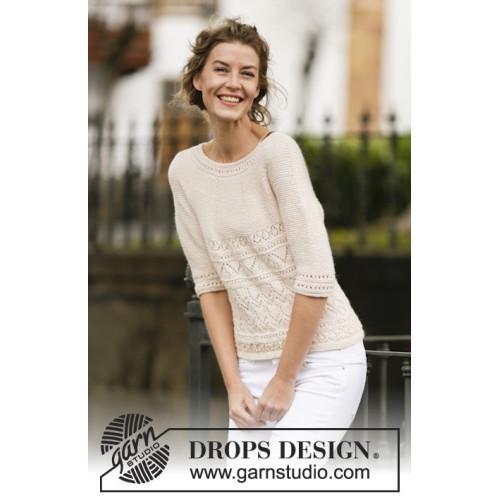 Timeless Beauty by DROPS Design S-XXXL DROPS BABYALPACA SILK