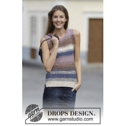 Downtown by DROPS Design S-XXXL DROPS COTTON VISCOSE