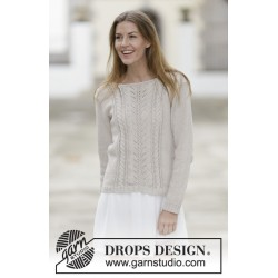 Image of   Darling by drops design s-xxxl drops cotton light garn bluse