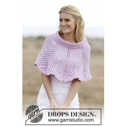 Image of   Lovely feathers by drops design s-xxxl drops merino extra fine garn