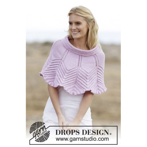 Lovely Feathers by DROPS Design S-XXXL DROPS MERINO EXTRA FINE