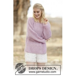 Dorothea by DROPS Design S-XXXL DROPS KID-SILK