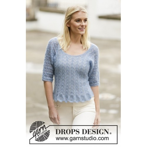 Hannah by DROPS Design S-XXXL DROPS KID-SILK